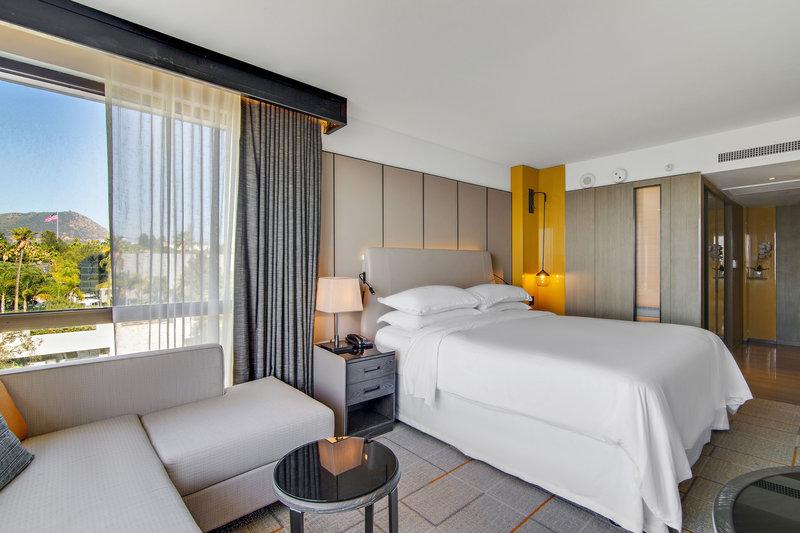 Sheraton Universal Hotel-King Corner Guest Room<br/>Image from Leonardo