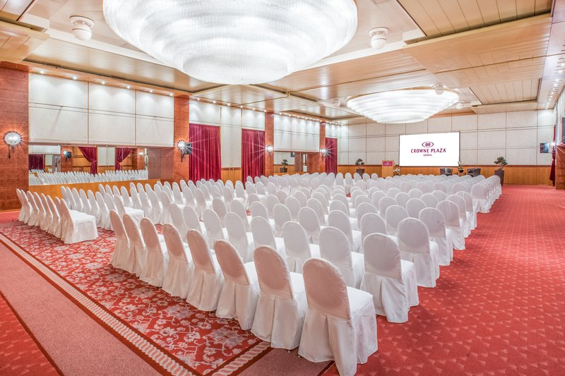 Crowne Plaza Geneva-Conference room in theatre style<br/>Image from Leonardo