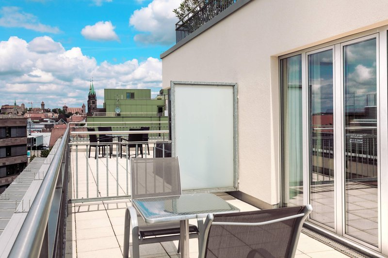 Sheraton Carlton Hotel Nuernberg-Terrace Of The Classic Room<br/>Image from Leonardo
