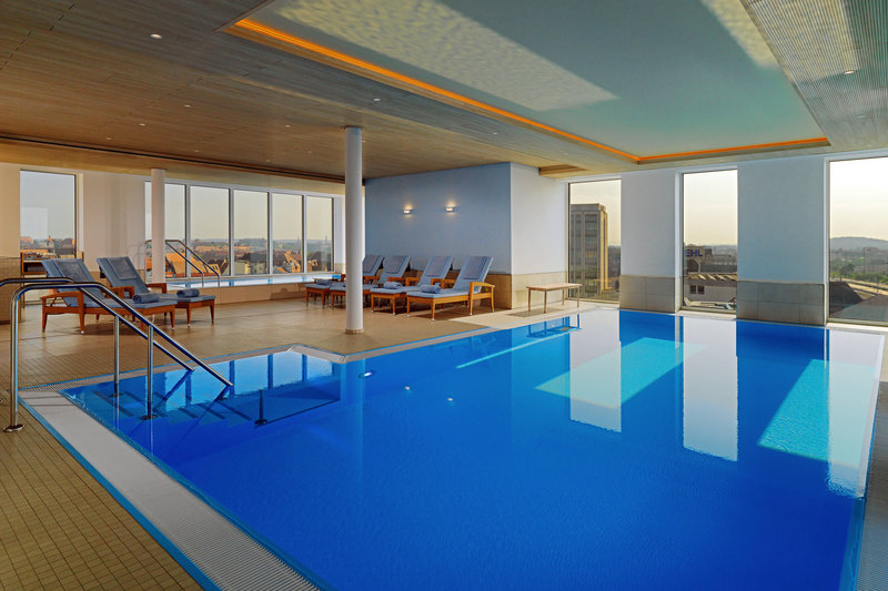 Sheraton Carlton Hotel Nuernberg-Indoor Heated Rooftop Pool<br/>Image from Leonardo