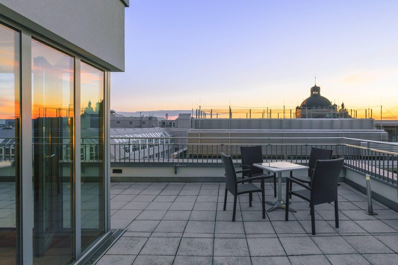 Sheraton Carlton Hotel Nuernberg-Terrace Of The Penthouse Suite<br/>Image from Leonardo