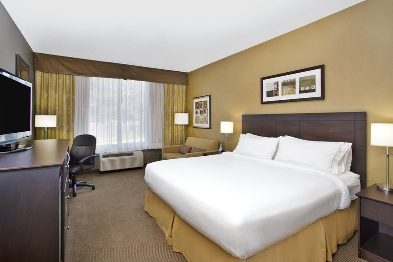 Holiday Inn Express & Suites Kingston-Comfortable King Guest Room<br/>Image from Leonardo