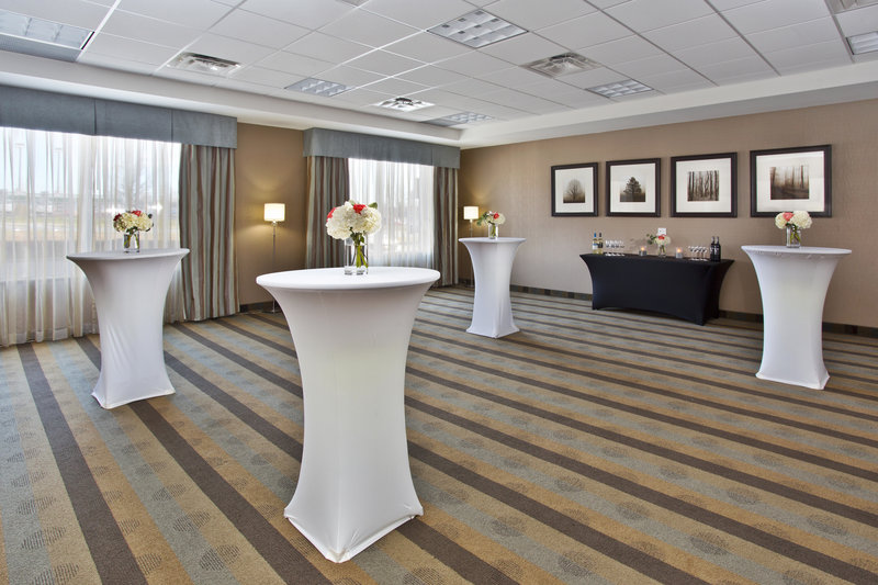 Holiday Inn Express & Suites Kingston-Meeting room setup in a banquet format<br/>Image from Leonardo