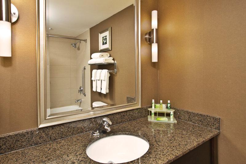 Holiday Inn Express & Suites Kingston-Standard Guest Bathroom<br/>Image from Leonardo