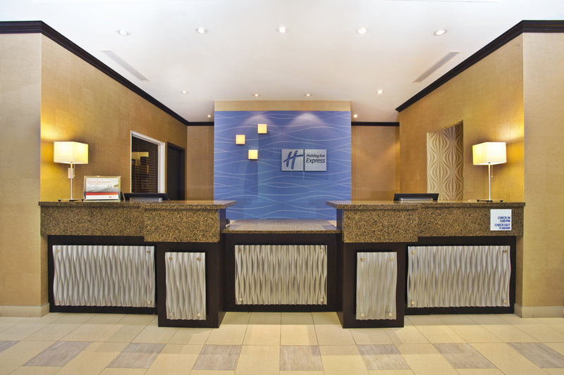 Holiday Inn Express & Suites Kingston-Our Front Desk staff is ready to assist you<br/>Image from Leonardo