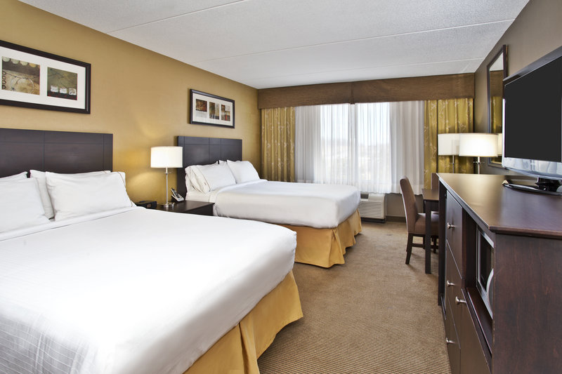 Holiday Inn Express & Suites Kingston-Spacious Two Queen Guest Room<br/>Image from Leonardo