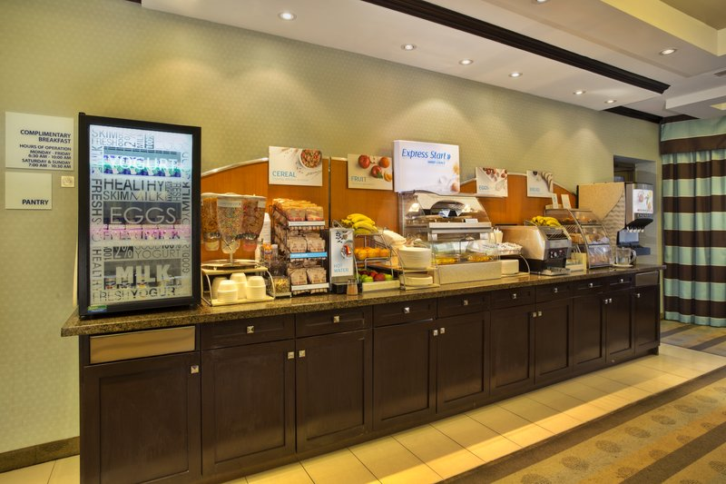 Holiday Inn Express & Suites Kingston-Start your morning off with a trip to our Breakfast Bar<br/>Image from Leonardo