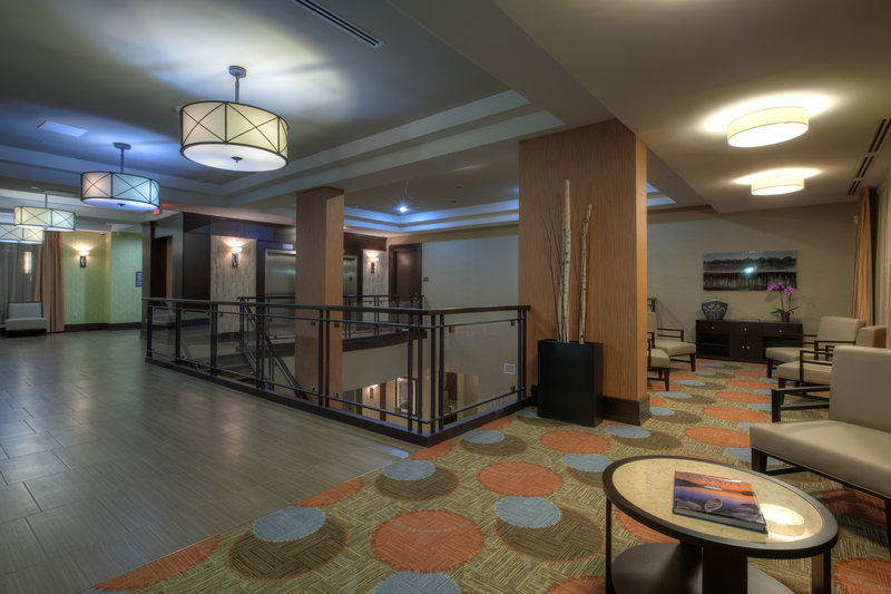 Staybridge Suites Hamilton - Downtown-Lobby Lounge of Extended Stay Hotel in Downtown Hamilton<br/>Image from Leonardo