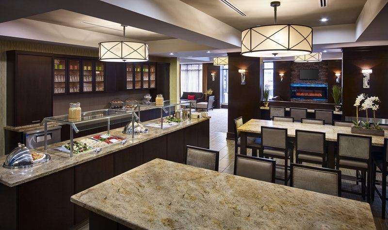 Staybridge Suites Hamilton - Downtown-Meet fun people at our social, light dinner Mon, Tues & Wed. <br/>Image from Leonardo