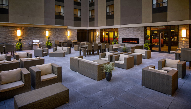 Staybridge Suites Hamilton - Downtown-Seasonal Patio with all year use of BBQ<br/>Image from Leonardo