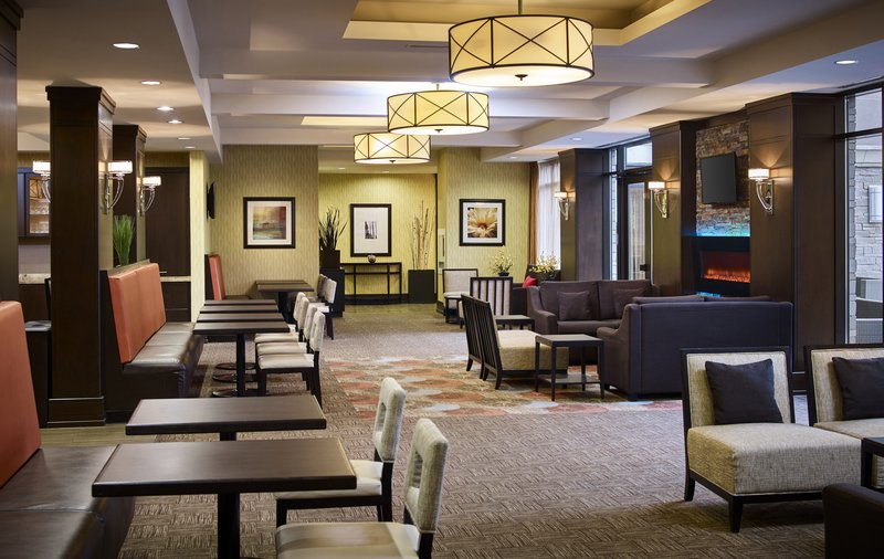 Staybridge Suites Hamilton - Downtown-Guest Dining Lounge<br/>Image from Leonardo