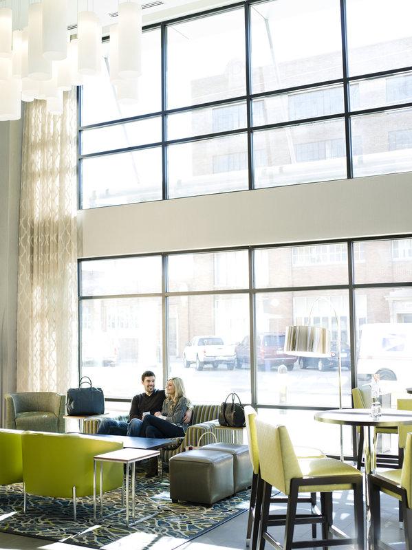 Holiday Inn Express & Suites Oklahoma City Downtown-Lobby<br/>Image from Leonardo