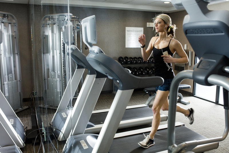 Holiday Inn Express & Suites Oklahoma City Downtown-Fitness Center<br/>Image from Leonardo