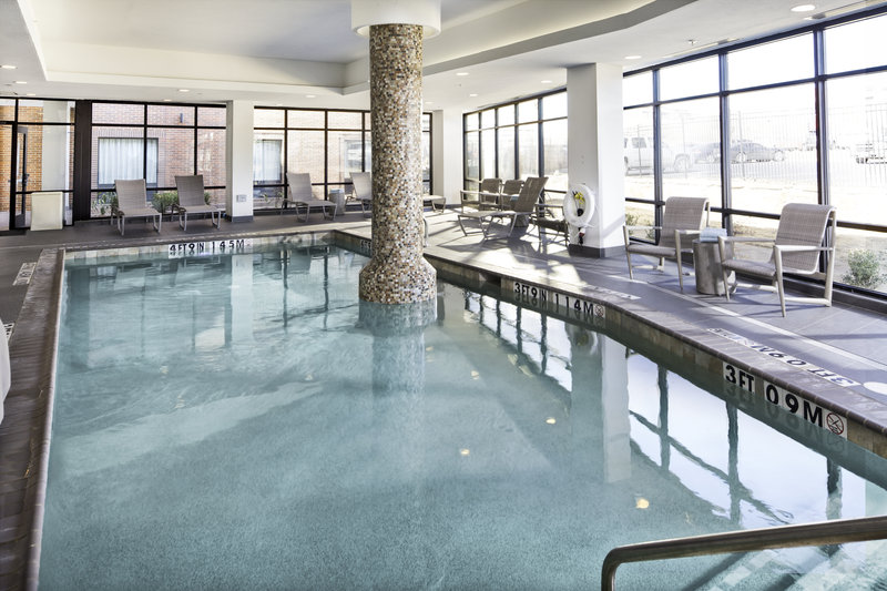 Holiday Inn Express & Suites Oklahoma City Downtown-Start your day off in OKC with a dip in our indoor pool!<br/>Image from Leonardo