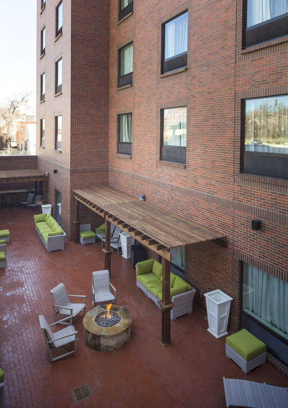 Holiday Inn Express & Suites Oklahoma City Downtown-Wind down a day of adventure in Oklahoma City in our Courtyard!<br/>Image from Leonardo