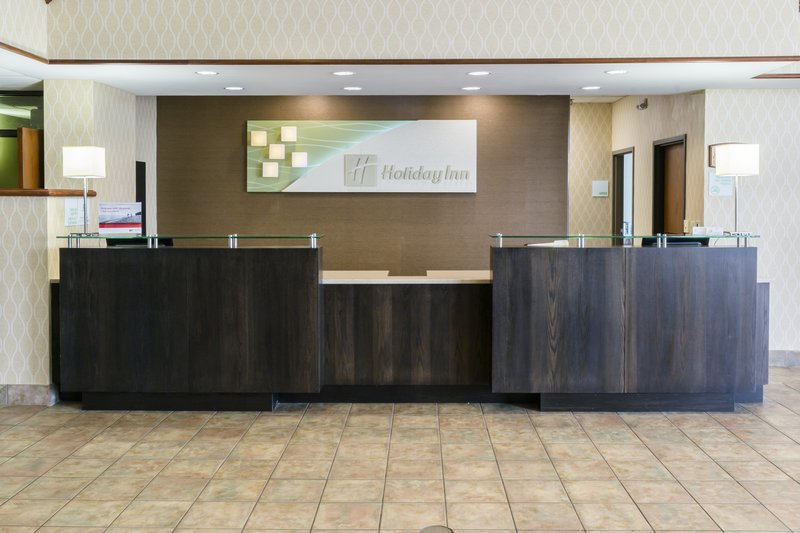 Holiday Inn Big Rapids-Front Desk<br/>Image from Leonardo