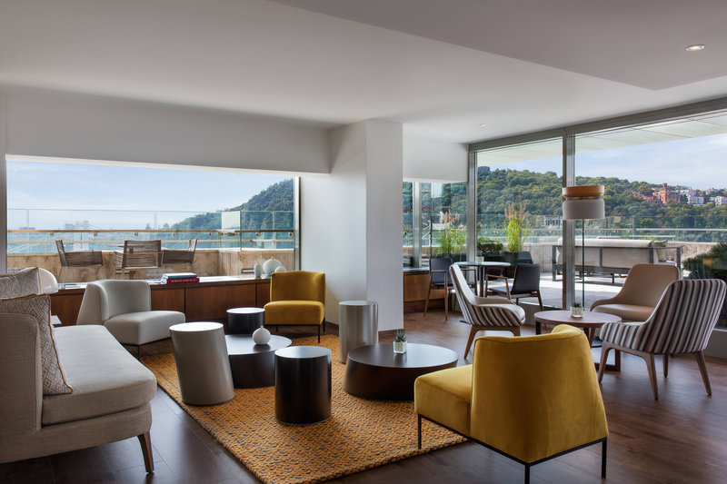 Budapest Marriott Hotel-M Club Lounge - Seating<br/>Image from Leonardo