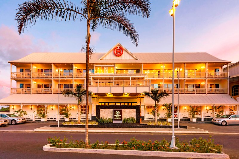 Sheraton Samoa Aggie Grey's Hotel & Bungalows-Exterior front elevation<br/>Image from Leonardo