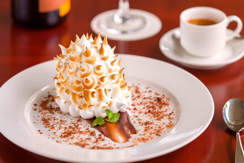 Saletoga Sands Resorts-Aggie Grey's Restaurant - Alaska Bomb Dessert<br/>Image from Leonardo