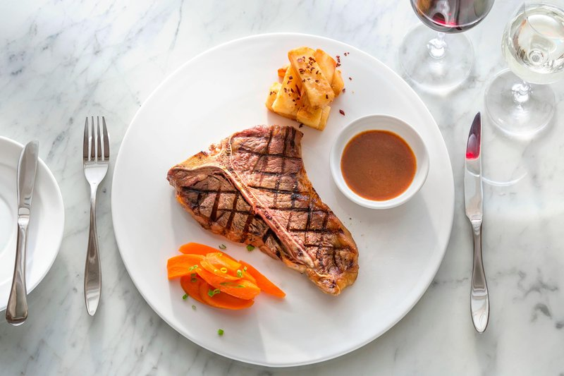 Saletoga Sands Resorts-Aggie Grey's Restaurant - Steak Main Course<br/>Image from Leonardo