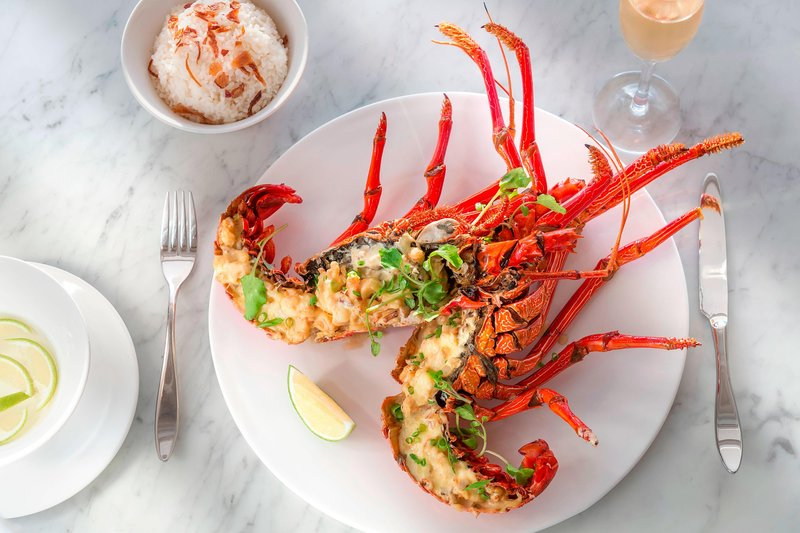Saletoga Sands Resorts-Aggie Grey's Restaurant - Lobster Dinner<br/>Image from Leonardo