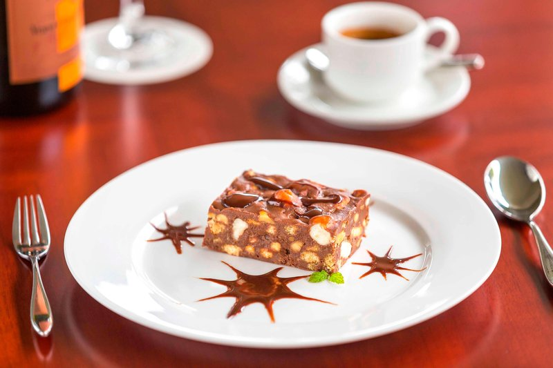 Saletoga Sands Resorts-Lobby Lounge - Rocky Road Brownies Dessert<br/>Image from Leonardo
