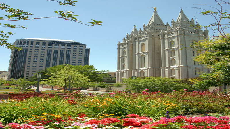 Holiday Inn Express & Suites Salt Lake City - Airport East-Temple Square Mormon Church (LDS)<br/>Image from Leonardo