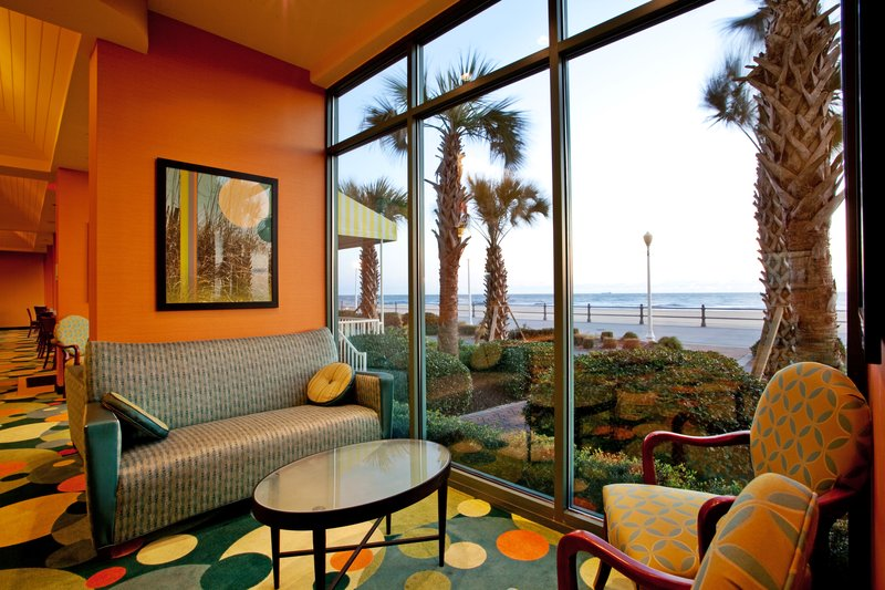 Holiday Inn Express And Suites Virginia Beach Oceanfront-Hotel Lobby<br/>Image from Leonardo