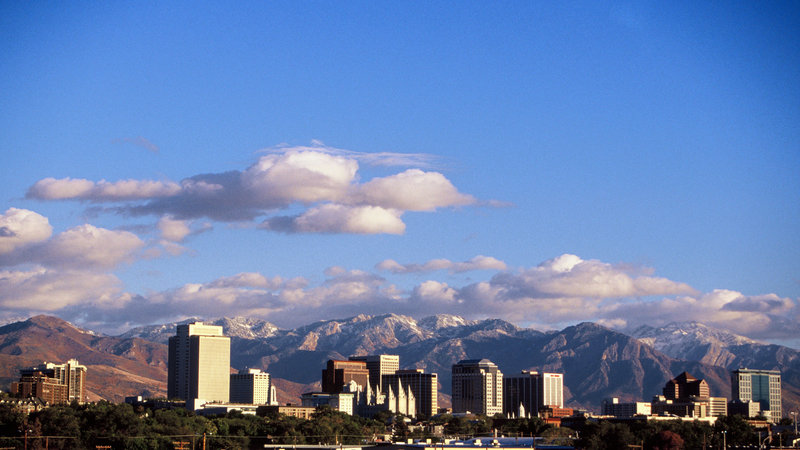 Holiday Inn Express & Suites Salt Lake City - Airport East-Downtown Salt Lake City 5 miles from hotel<br/>Image from Leonardo
