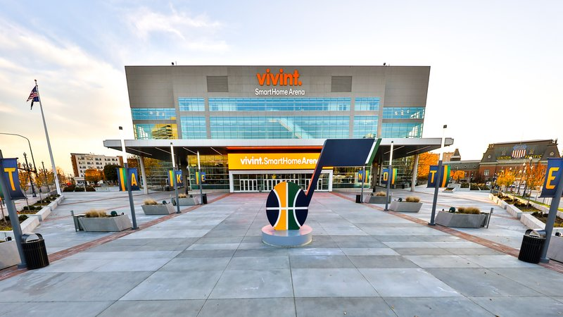 Holiday Inn Express & Suites Salt Lake City - Airport East-Vivint SmartHome Arena 5 miles from hotel Home of the Utah Jazz<br/>Image from Leonardo