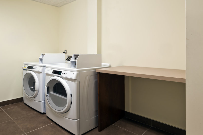 Holiday Inn Express Deer Lake-Coin Operated Laundry Facility Open From 6 am to 11 pm<br/>Image from Leonardo