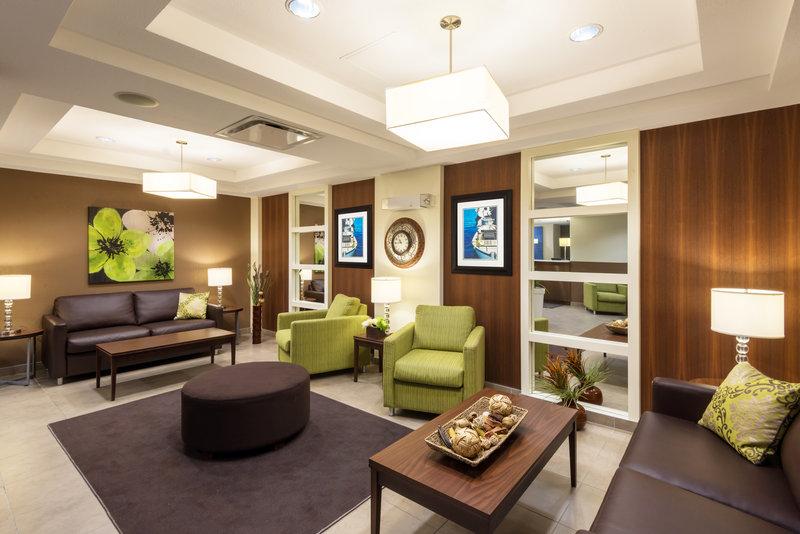 Holiday Inn Express Deer Lake-Hotel Lobby<br/>Image from Leonardo