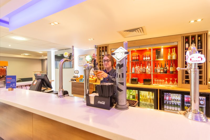 Holiday Inn Express Kettering-Our 24hr Residents Bar is Waiting for You!<br/>Image from Leonardo