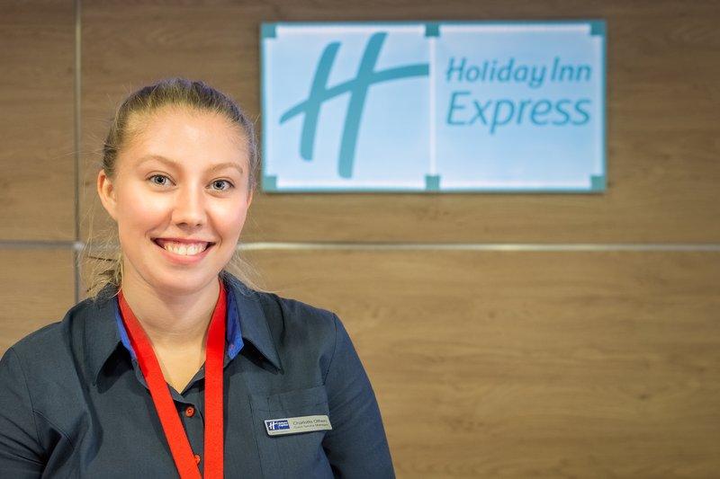 Holiday Inn Express Kettering-Reception<br/>Image from Leonardo