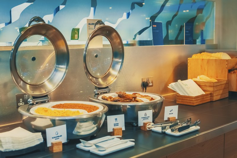 Holiday Inn Express Kettering-Our Hot Food Buffet!<br/>Image from Leonardo