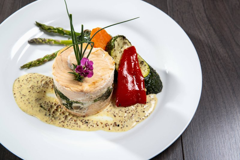 Delta Hotels by Marriott St John's Conference Centre-The Pinnacle - Baked Salmon<br/>Image from Leonardo