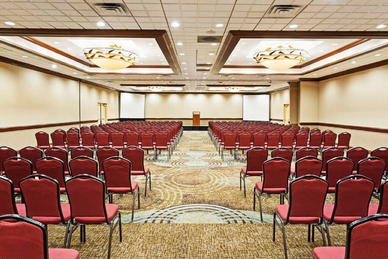 Crowne Plaza Knoxville Downtown University-Tennessee Ballroom can be divided into 3 separate salons.<br/>Image from Leonardo