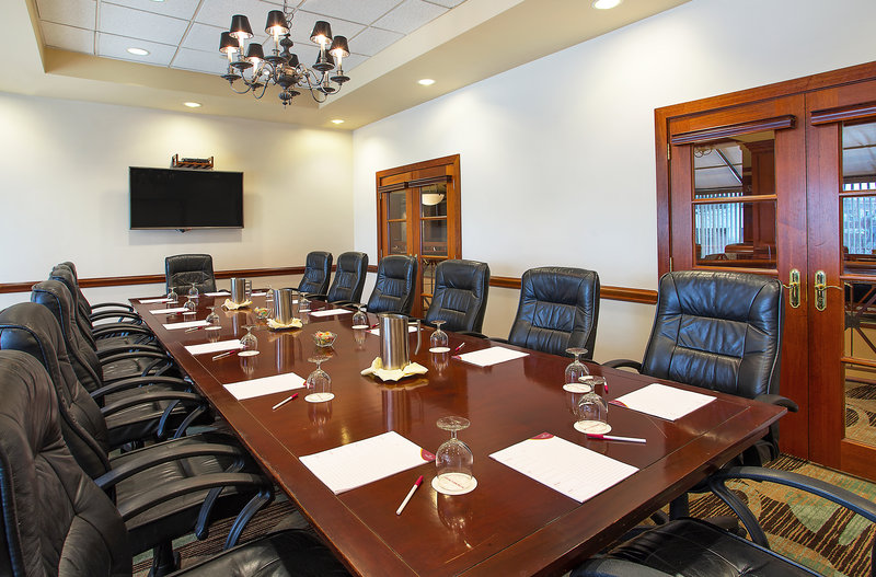 Crowne Plaza Knoxville Downtown University-For a more intimate meeting space, try our Executive Boardroom 1.<br/>Image from Leonardo