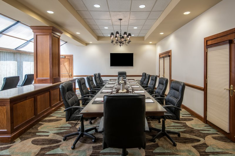 Crowne Plaza Knoxville Downtown University-Have a board meeting? Try our Executive Boardroom 1.<br/>Image from Leonardo