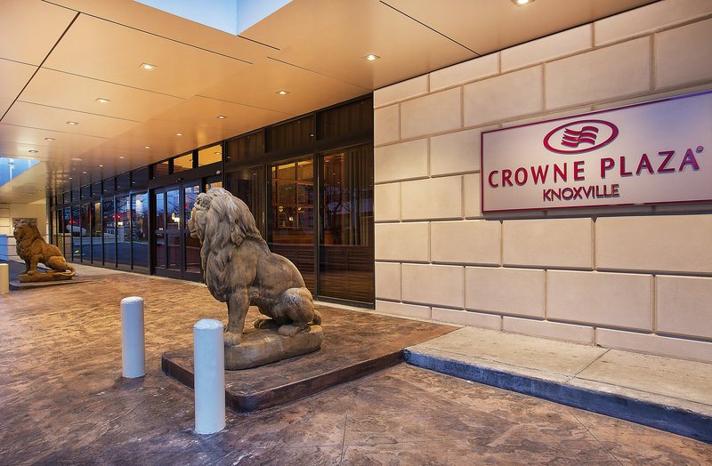 Crowne Plaza Knoxville Downtown University-We're located a short 15 minutes away from the Knoxville Airport.<br/>Image from Leonardo