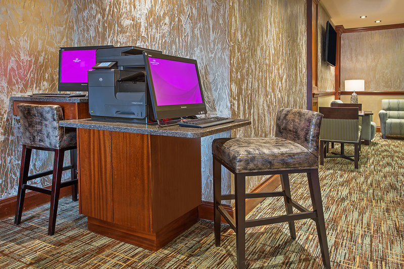 Crowne Plaza Knoxville Downtown University-Guests can enjoy our 24-hour Business Center<br/>Image from Leonardo