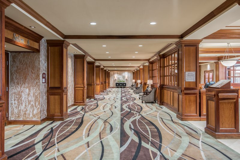 Crowne Plaza Knoxville Downtown University-Take a walk through the stunning Mezzanine.<br/>Image from Leonardo