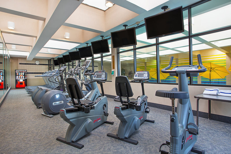 Crowne Plaza Knoxville Downtown University-Our fitness center offers a separate cardio room<br/>Image from Leonardo