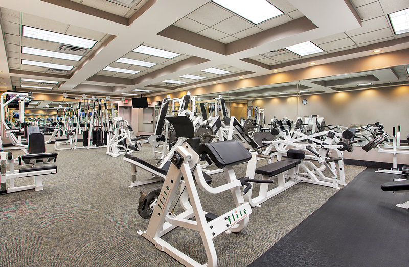 Crowne Plaza Knoxville Downtown University-Take advantage of our state-of-the-art fitness center<br/>Image from Leonardo