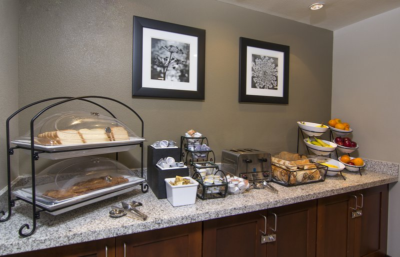 Staybridge Suites Carlsbad - San Diego-Complimentary Breakfast. Dairy products, eggs, and fresh fruit<br/>Image from Leonardo