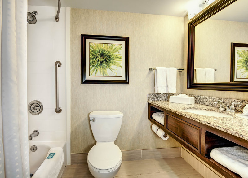 Holiday Inn Express Neptune-Standard and Accessible Bathroom with Tub Shower<br/>Image from Leonardo