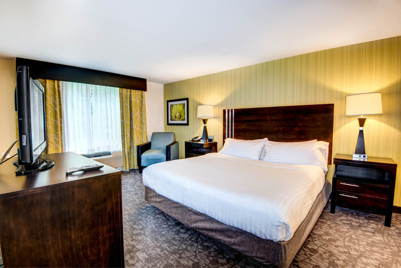 Holiday Inn Express Neptune-Accessible King Suite Bedroom<br/>Image from Leonardo