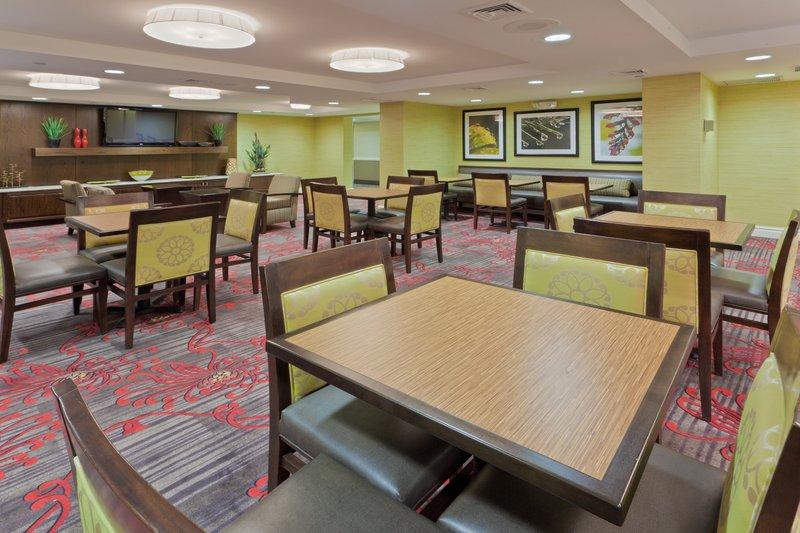 Holiday Inn Express Neptune-Breakfast Area<br/>Image from Leonardo