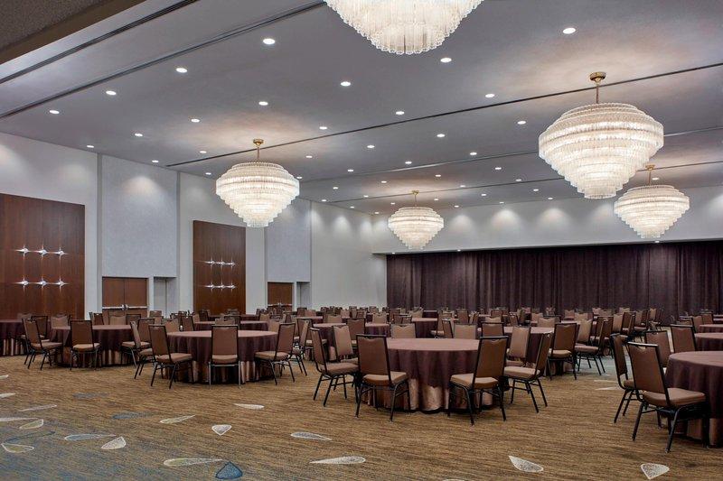 Delta Hotels by Marriott Winnipeg-Delta Grand Ballroom – Banquet Setup<br/>Image from Leonardo