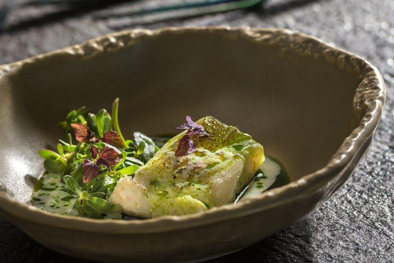 Aressana Spa Hotel & Suites-Ifestioni Restaurant - Greek Gastronomy<br/>Image from Leonardo